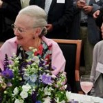 Olga talking with the Queen of Denmark