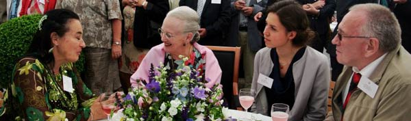 Olga meets the Queen of Denmark