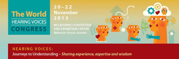 Hearing Voices Congress in Melbourne, Australia