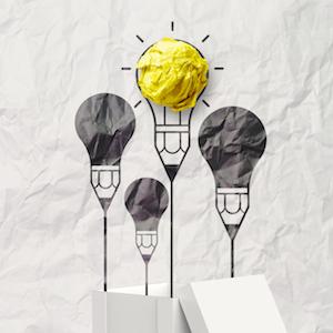 Paper Lightbulbs