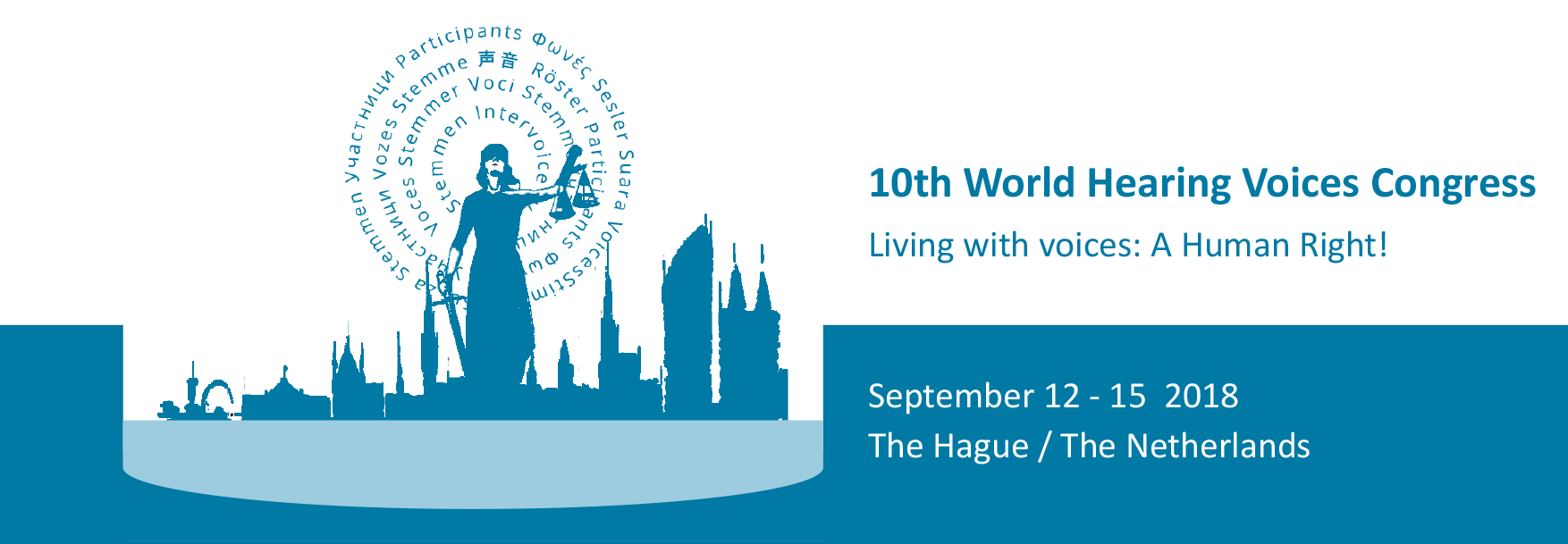 Hearing Voices Congress in The Hague, Netherlands